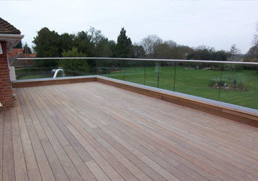 Ipe Decking Project - Hertfordshire