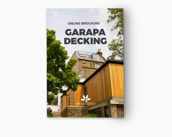 Decking - Garapa Pre-Grooved - 19 x 140 mm Guide