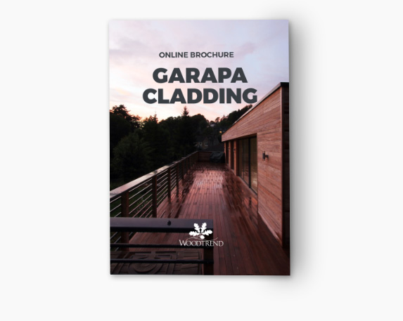 Cladding - Garapa - 19 x 90 mm Guide