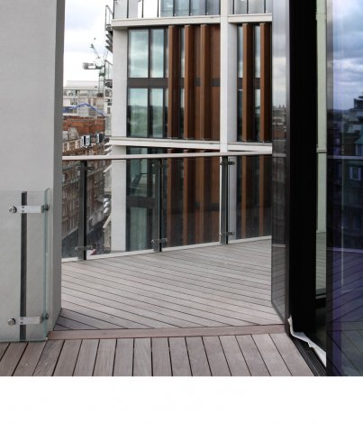 IPE AD Decking Pre-Grooved 19 x 140 mm x 4' & Longer