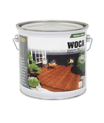 WOCA - Exterior Oil for Hardwood Timber - 2.5 litre